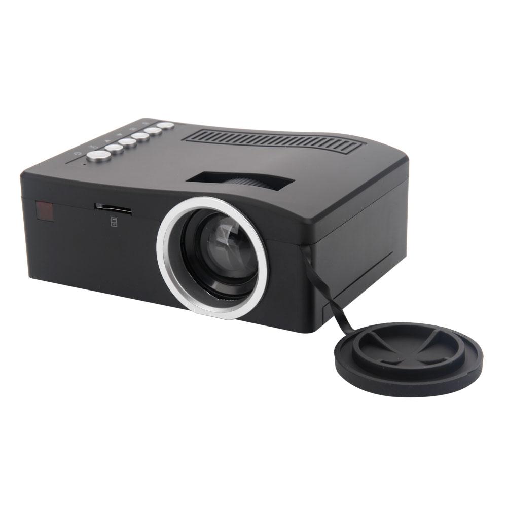 Uc18 unic mini digital video led projector player hdmi vga for Mini digital projector
